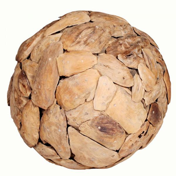 Holz Deko Kugel