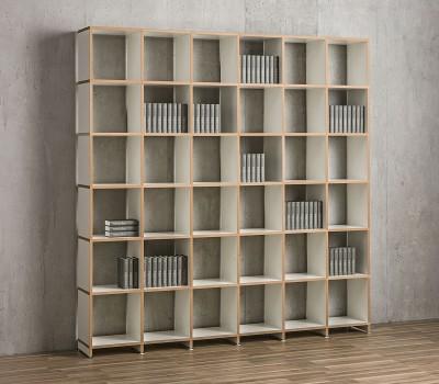 Mocoba Book Bücherregal 6x6