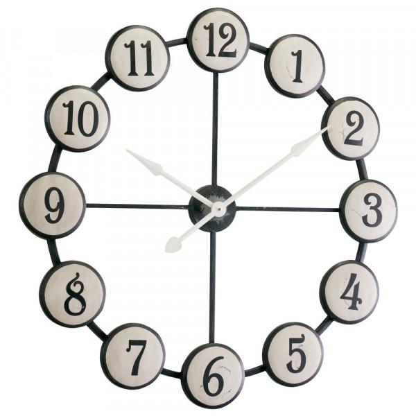 Uhr Retro white