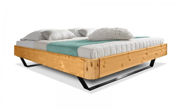 Holzbett Easy Sleep Kufen rund