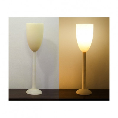 Alabasterlampe Kelch 1