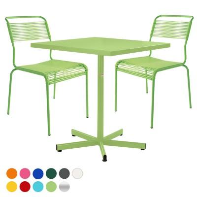 Balkonset Basic-Säntis Tisch & 2 Stühle