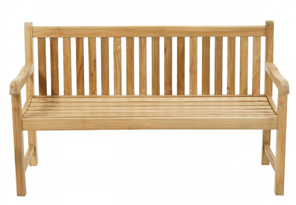 Landhausbank Coventry Premium-Teak 150 cm