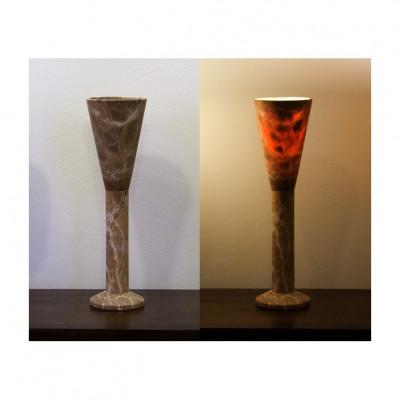 Alabasterlampe Trompete
