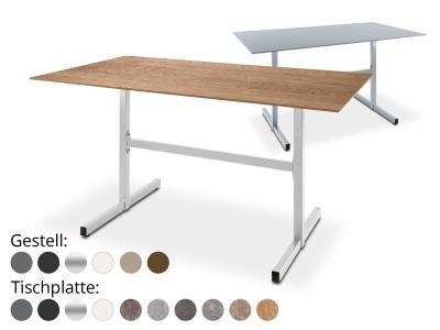 Gartentisch Basel rechteckig