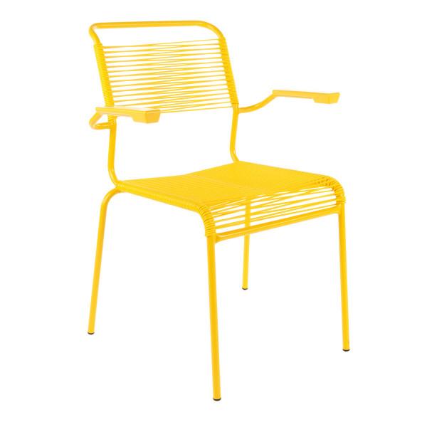 Balkonset PIX-Säntis Tisch & 2 Stühle mit Armlehne