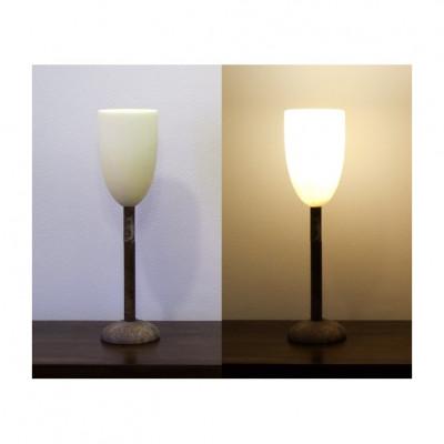 Alabasterlampe Kelch 4