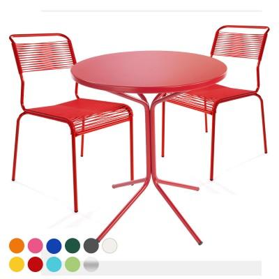 Balkonset PIX-Säntis Tisch & 2 Stühle