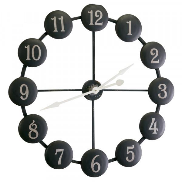 Uhr Retro black
