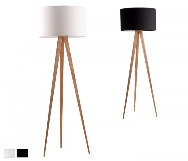 Stehlampe Tripod Wood