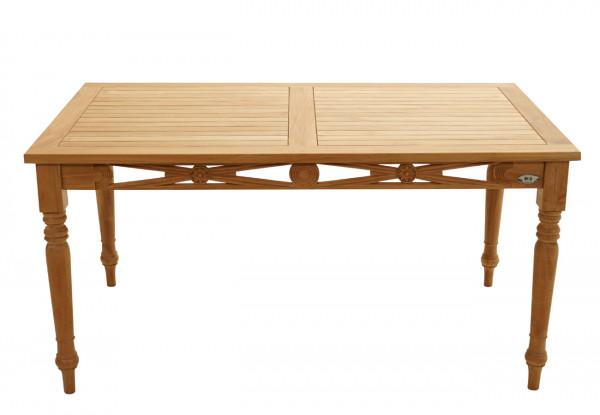 Ornamenttisch Cambridge Premium-Teak 150x90 cm