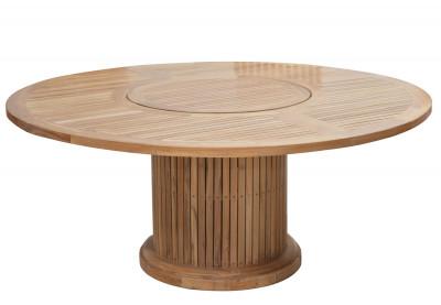 Tisch Phoenix mit Drehteller Ø 160 cm