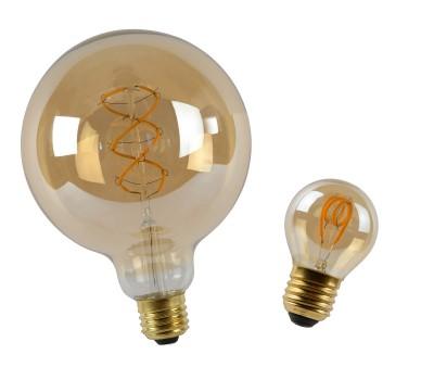 Glühfadenlampe Amber