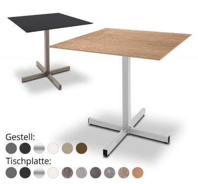 Gartentisch Basel 80x80