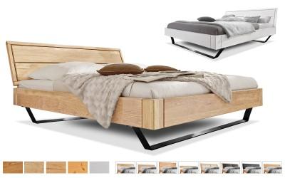 Holzbett Easy Sleep Kufen eckig