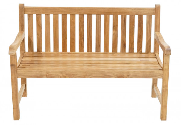 Landhausbank Coventry Premium-Teak 130 cm