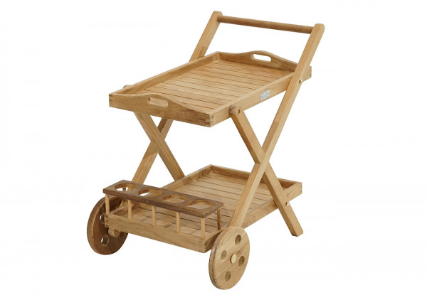 Servierwagen New Haven Premium-Teak