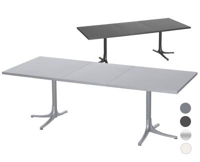 Metalltisch Arbon ausziehbar 160-218x90cm