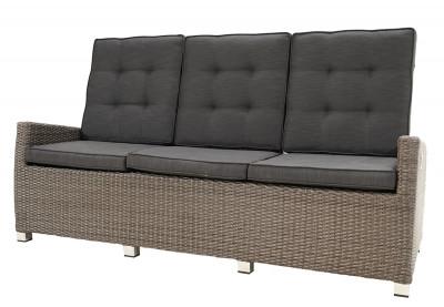 Rocking Comfort Speise-/ Loungesofa 3- Sitzer