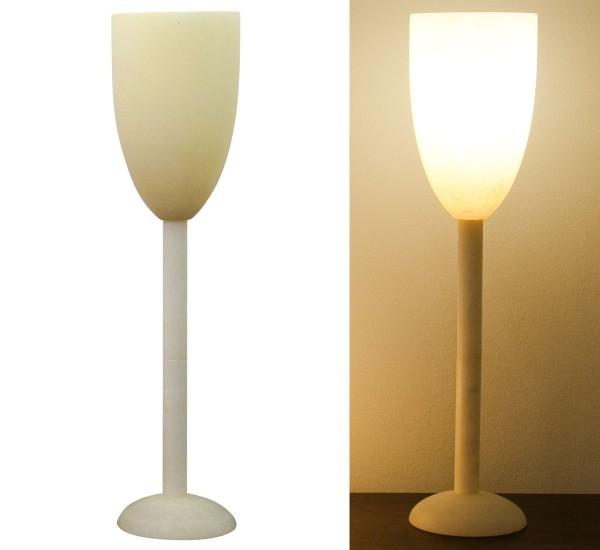 Alabasterlampe Kelch groß